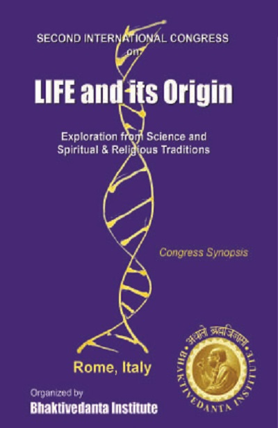 DVD Rome conference - Life and its origin